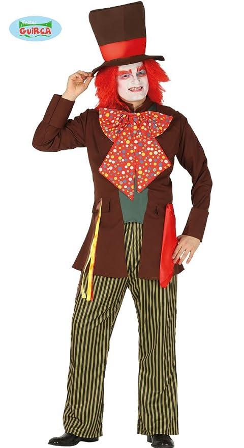 Fiestas Guirca Costume da Cappellaio Matto Uomo  Guirca  Amazon.it ... dbecf8565825