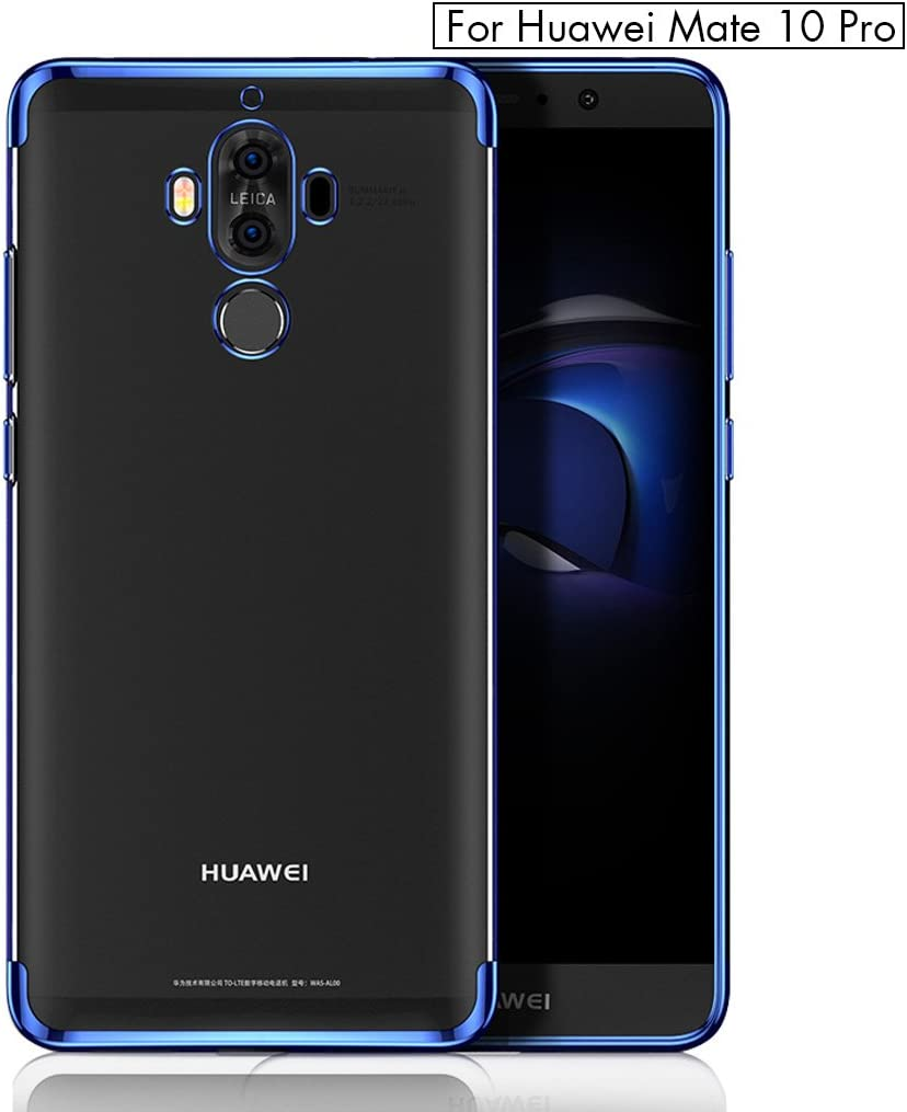 BLUGUL Funda Huawei Mate 10 Pro, Electroplating Coloring, Ultra ...