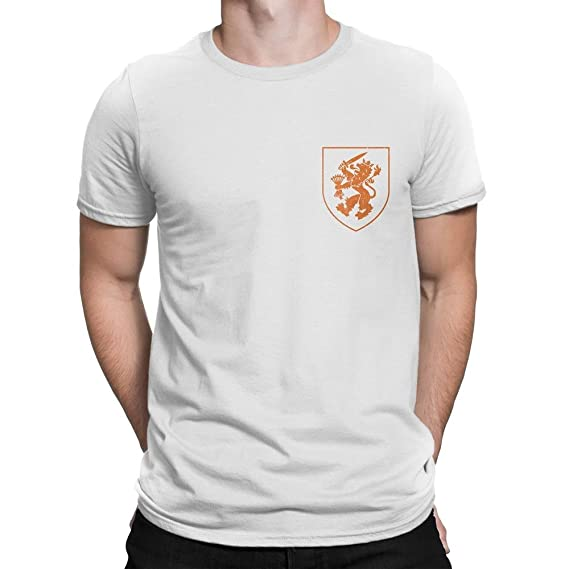 NYC FACTORY Netherlands Dutch Soccer Jersey Men Tee Black Lions Unisex   Amazon.ca  Clothing   Accessories 8a15324af
