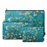 Society6 Blossoming Almond Trees, Vincent Van Gogh. Famous Vintage Fine Art. Carry-All Pouch Set of 3