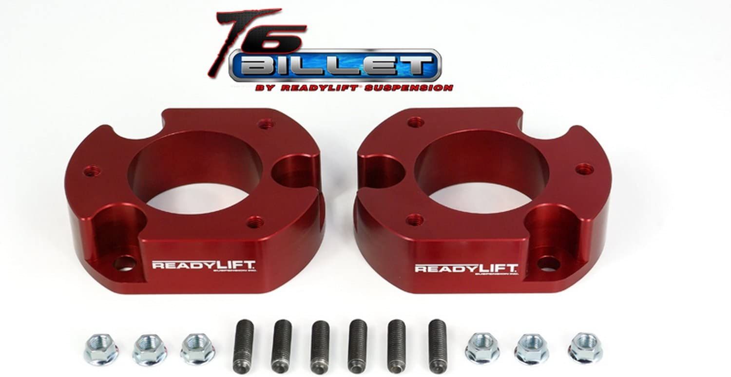 ReadyLift T6-2058B T6 Billet Blue 2.5 Max Lift Leveling Kit for Ford F150