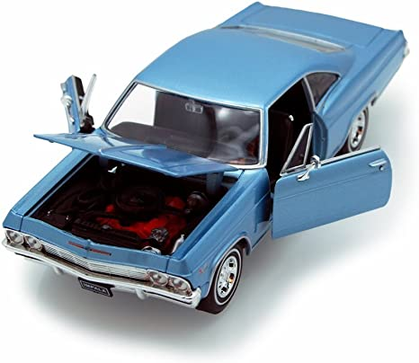 rot #22417 Welly Chevrolet Impala SS 396 1965-1:24