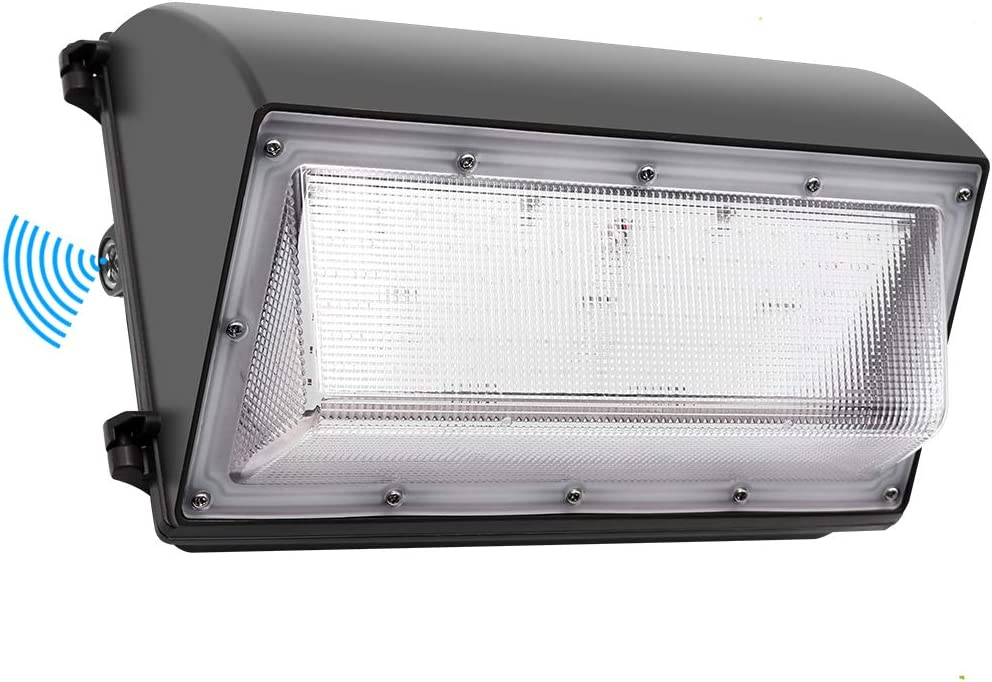 , Cinoton LED Wall Pack Light,26W 3000lm Dusk-to-dawn Photocell,Waterproof IP65