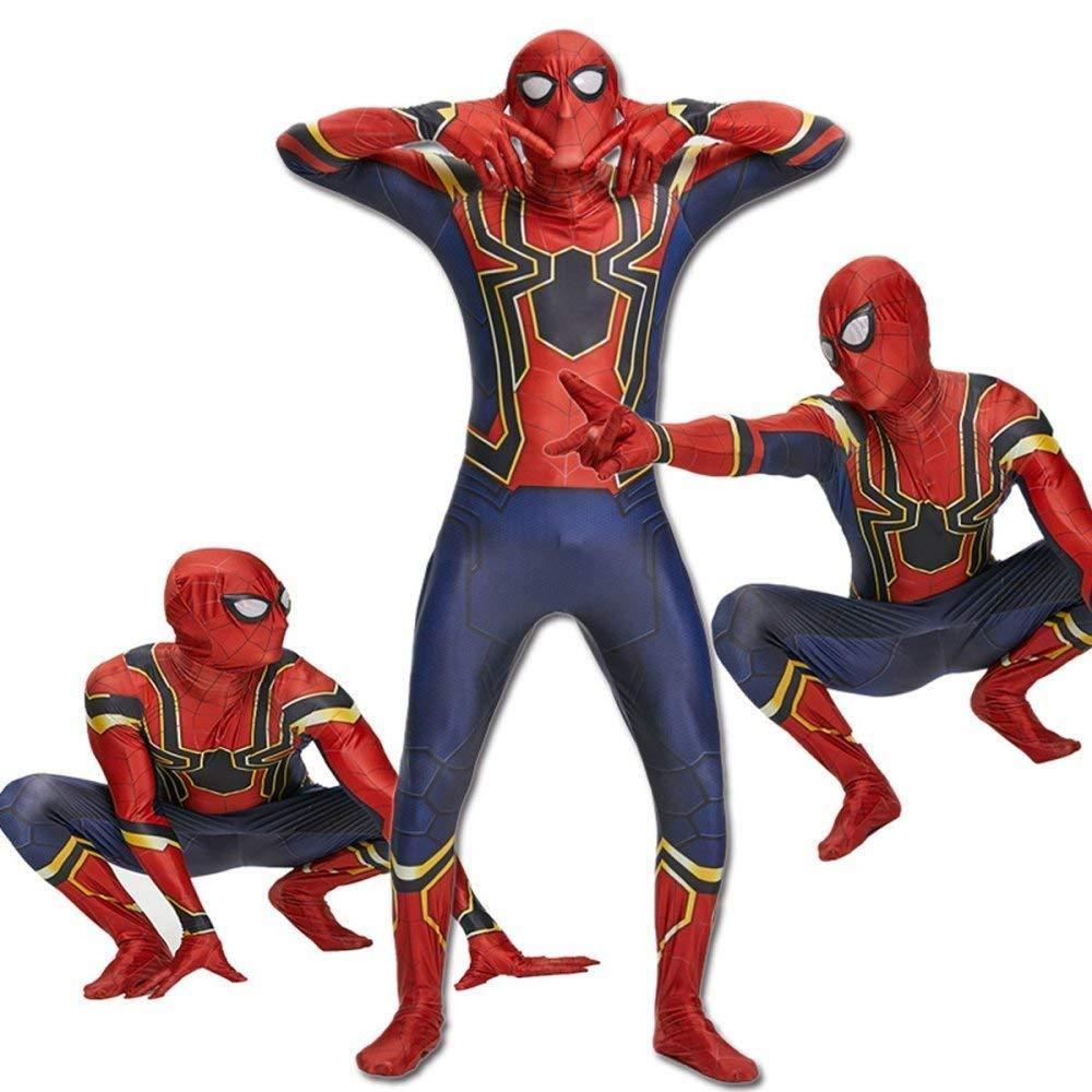 Traje De Spiderman De Iron Man, Medias De Spider Man 3D ...
