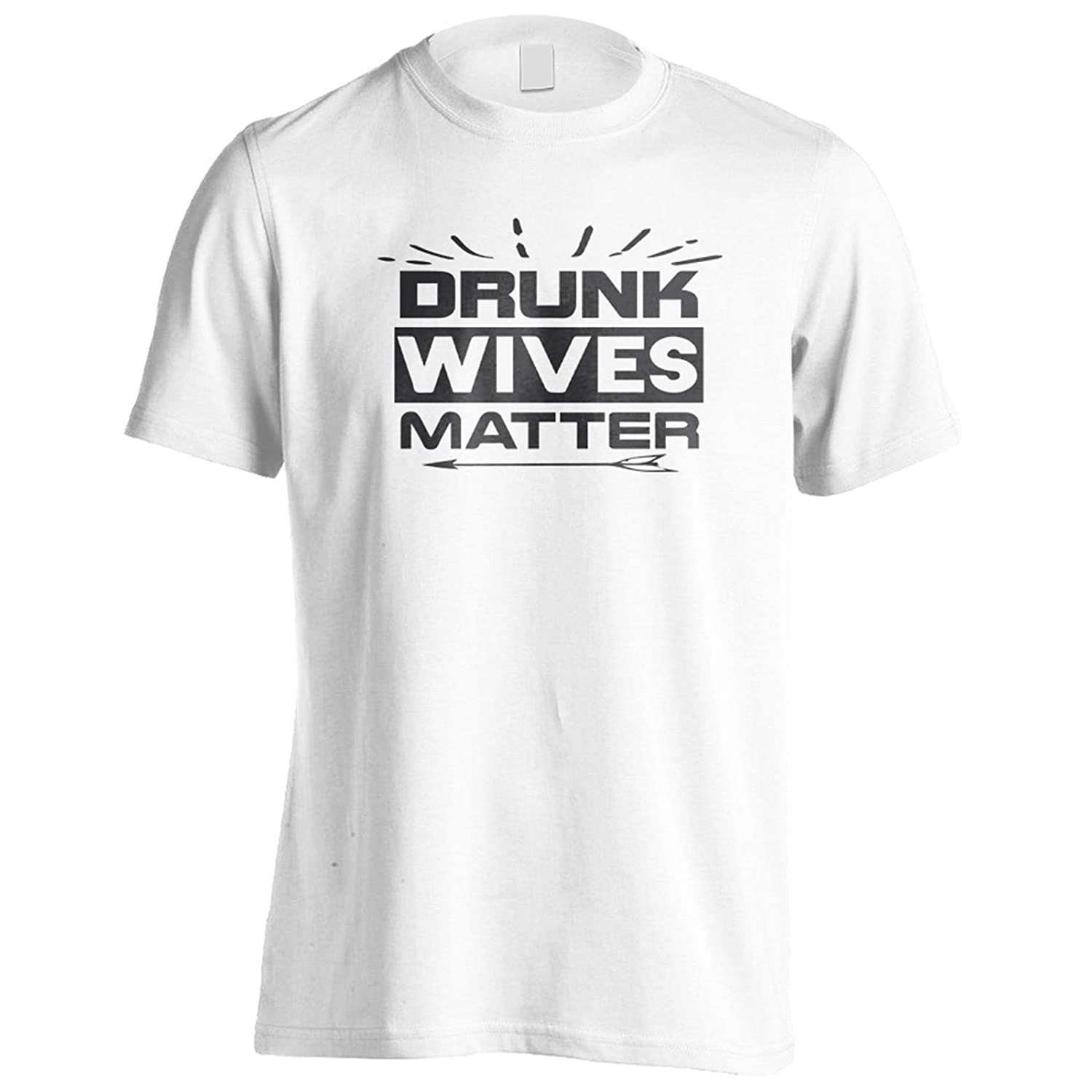 INNOGLEN Drunk Wives Matter Mens T-Shirt Tee gg226m