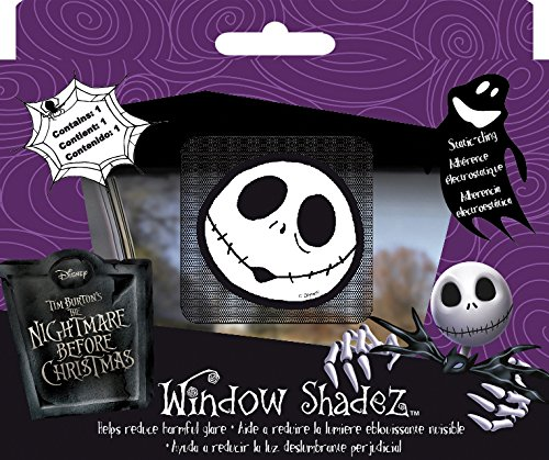 Chroma 42000 Nightmare Before Christmas Jack Skellington Window Shadez (Chroma Graphics Static Cling)