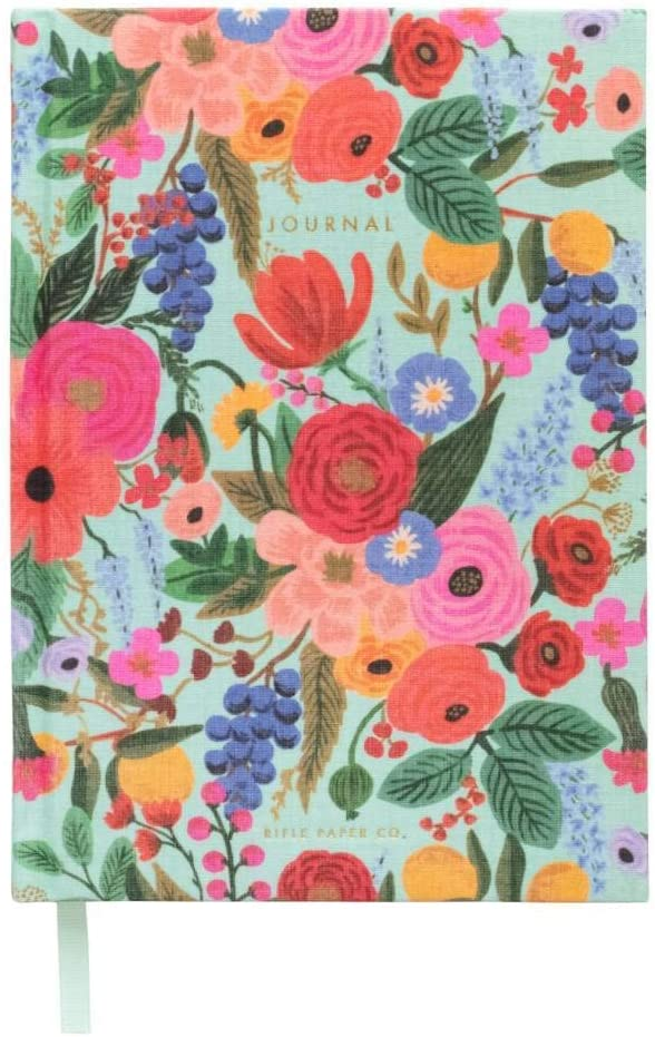 Rifle Paper Garden Party Everyday Fabric Journal Hardcover Notebook