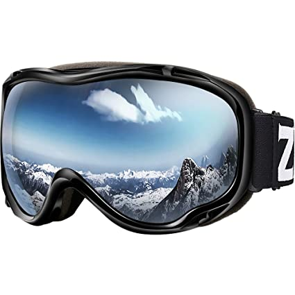 57dafe99e0f Zionor Lagopus Ski Snowboard Goggles UV Protection Anti-Fog Snow Goggles  for Men Women Youth  Amazon.ca  Sports   Outdoors