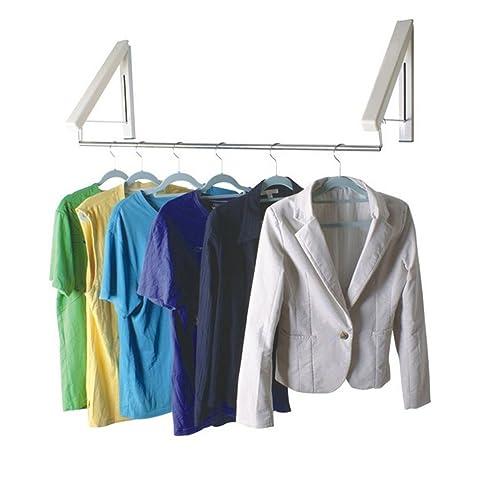 Kleider Aufhängen Stange 2 nbsp unsichtbare w auml sche stangen wandhalterung f uuml r