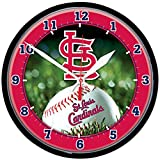 MLB 2936214 St. Louis Cardinals Round Wall Clock, 12.75""