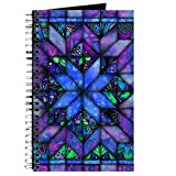 quilt diary - CafePress - Blue Quilt - Spiral Bound Journal Notebook, Personal Diary, Blank