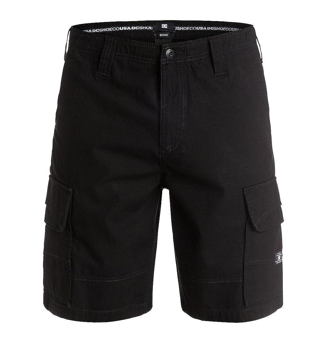 33 Shorts Grey Monument 33 DC Shoes Mens Shoes Ripstop Cargo 21 Men