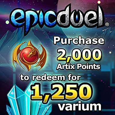 1,250 Varium Package: EpicDuel [Instant Access]