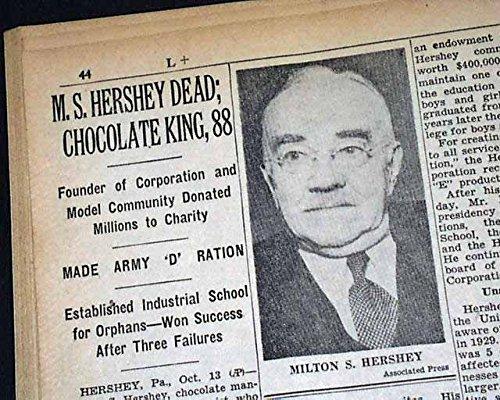 hershey the chocolate man