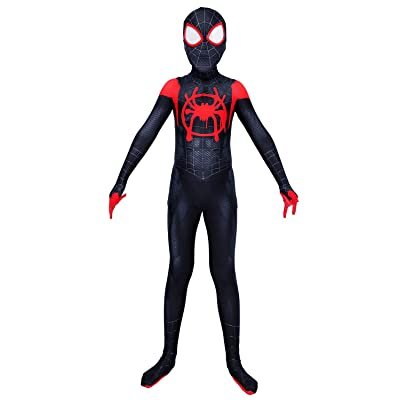 Piers Kids Lycra Spandex Bodysuit Cosplay Superhero Costumes Zentai Youth: Clothing