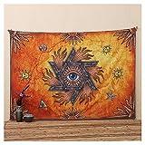 "Ilishop Egyptian Decor Collection, Egyptian Ancient Art Eye Design Print, Room Dorm Wall Hanging Tapestry Eye 78.7"" x 57"""