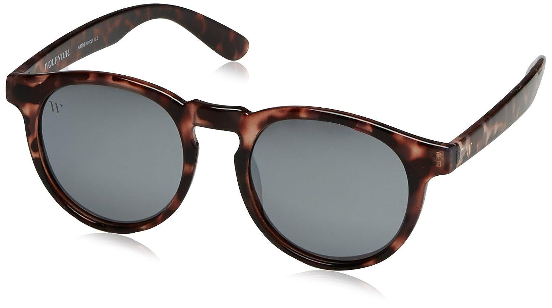 Wolfnoir Unisex-Erwachsene Sonnenbrille Hathi Stonoise, Schwarz (Negro), 45