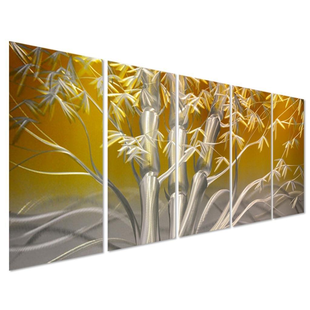 Amazon.com: Pure Art Eastern Sunrise Forest Decoration - Large ...