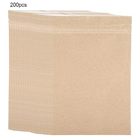 Bolsas de papel Kraft para alimentos con Cierre,Bolsas Zip ...