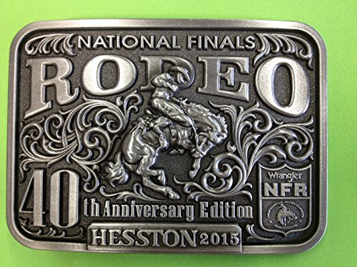 - 2015 Hesston National Finals Rodeo Belt Buckle (adult)