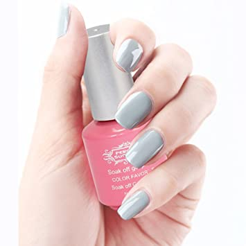 Amazon.com: Perfect Summer Creamy Gris Colors Series Gel ...