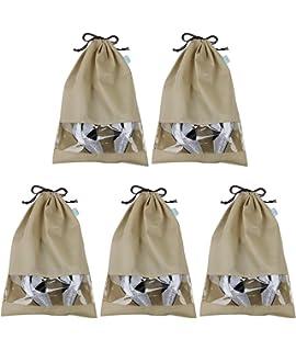 Pack de 10 bolsas para guardar zapatos, resistentes al polvo ...