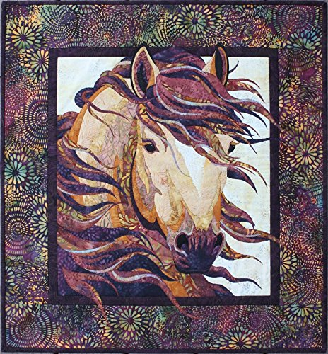 Toni Whitney Design Summer Breeze Horse Applique Quilt Pattern Wall Hanging 25