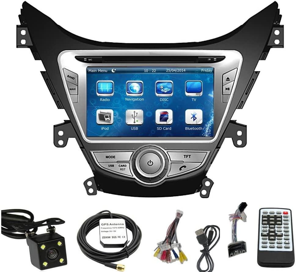 [DIAGRAM_5LK]  Amazon.com: Car GPS Navigation System for HYUNDAI ELANTRA 2011 2012 2013  Double Din Car Stereo DVD Player 8 Inch Touch Screen TFT LCD Monitor  In-dash DVD Video Receiver with Built-In Bluetooth TV | 2013 Hyundai Elantra Gps Radio Wiring Diagram |  | Amazon.com