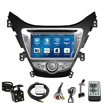 Car GPS Navigation System for HYUNDAI ELANTRA 2011 2012 2013 Double Din Car Stereo DVD Player