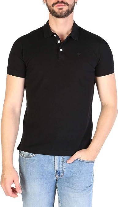 Emporio Armani Hombre Polo Shirt 8N1F12 1J0SZ 999 Camisa Polo ...