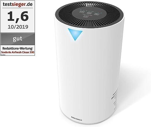 Soehnle Airfresh Clean 300 Purificador de aire para hogar, filtro ...