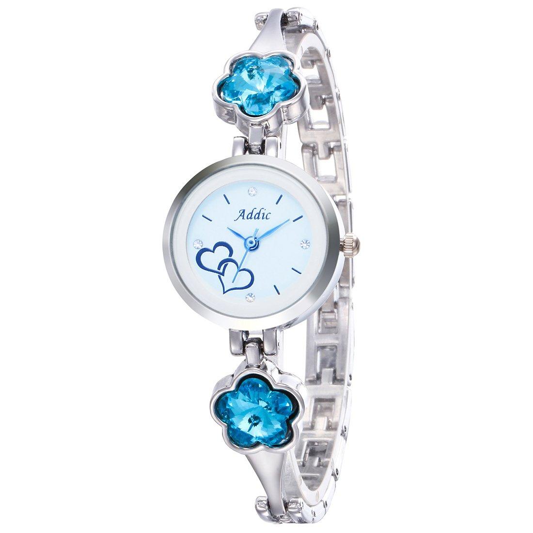 Addic Analog White Dial Women's Watch-AddicWW449