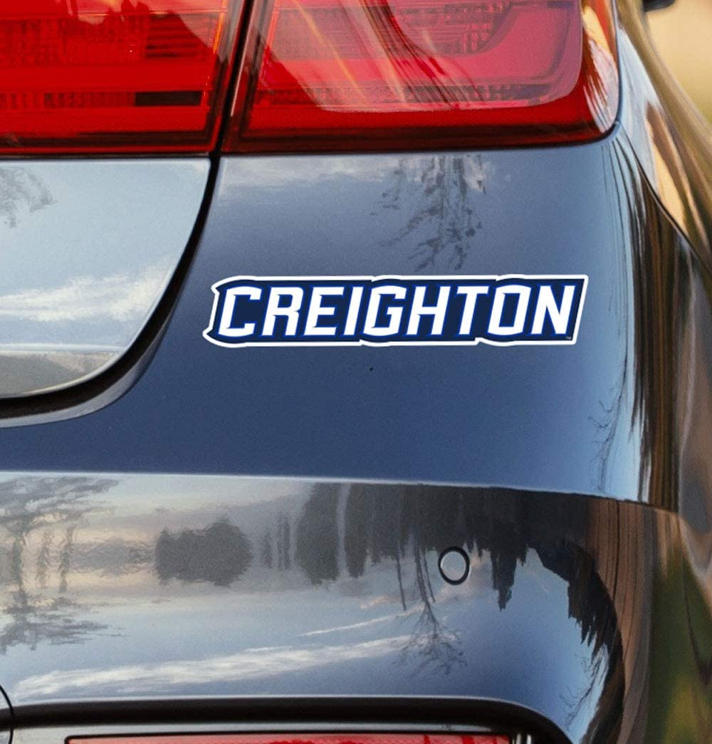 Creighton Wordmark Creighton University Collegiate Car Decal