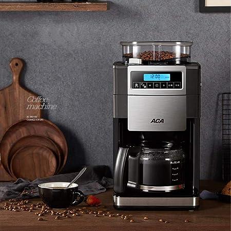 KOUDAG Cafetera Máquina de café Granos de molienda Completamente automáticos Molienda Una máquina Taza Inteligente Goteo 9 Archivos Reserva de Aislamiento: Amazon.es: Hogar