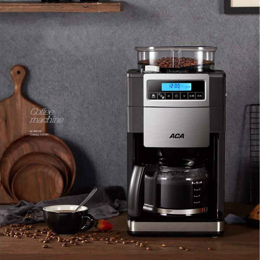 KOUDAG Cafetera Máquina de café Granos de molienda Completamente ...