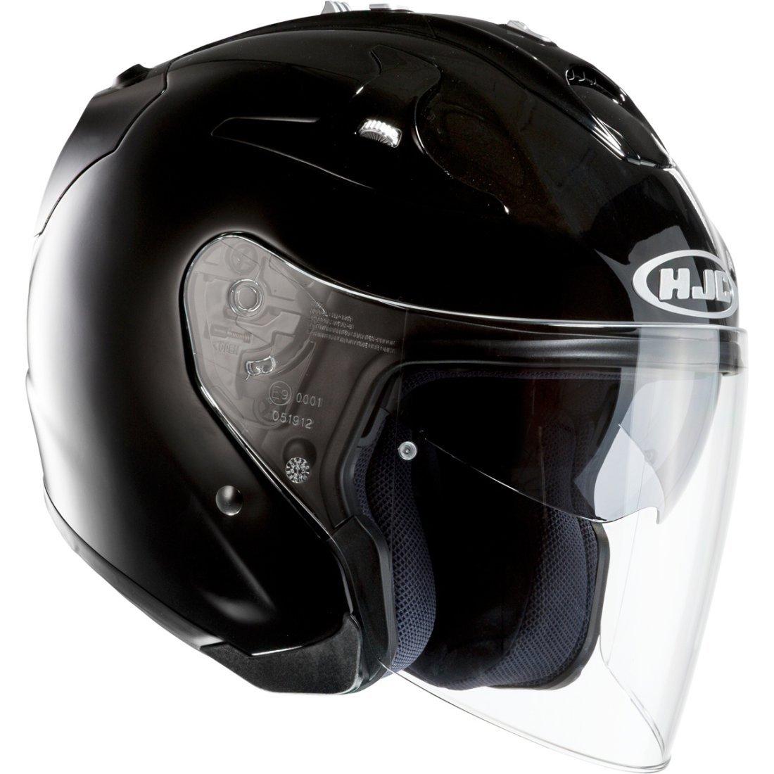 HJC Casque Moto FG-Jet Noir Taille S