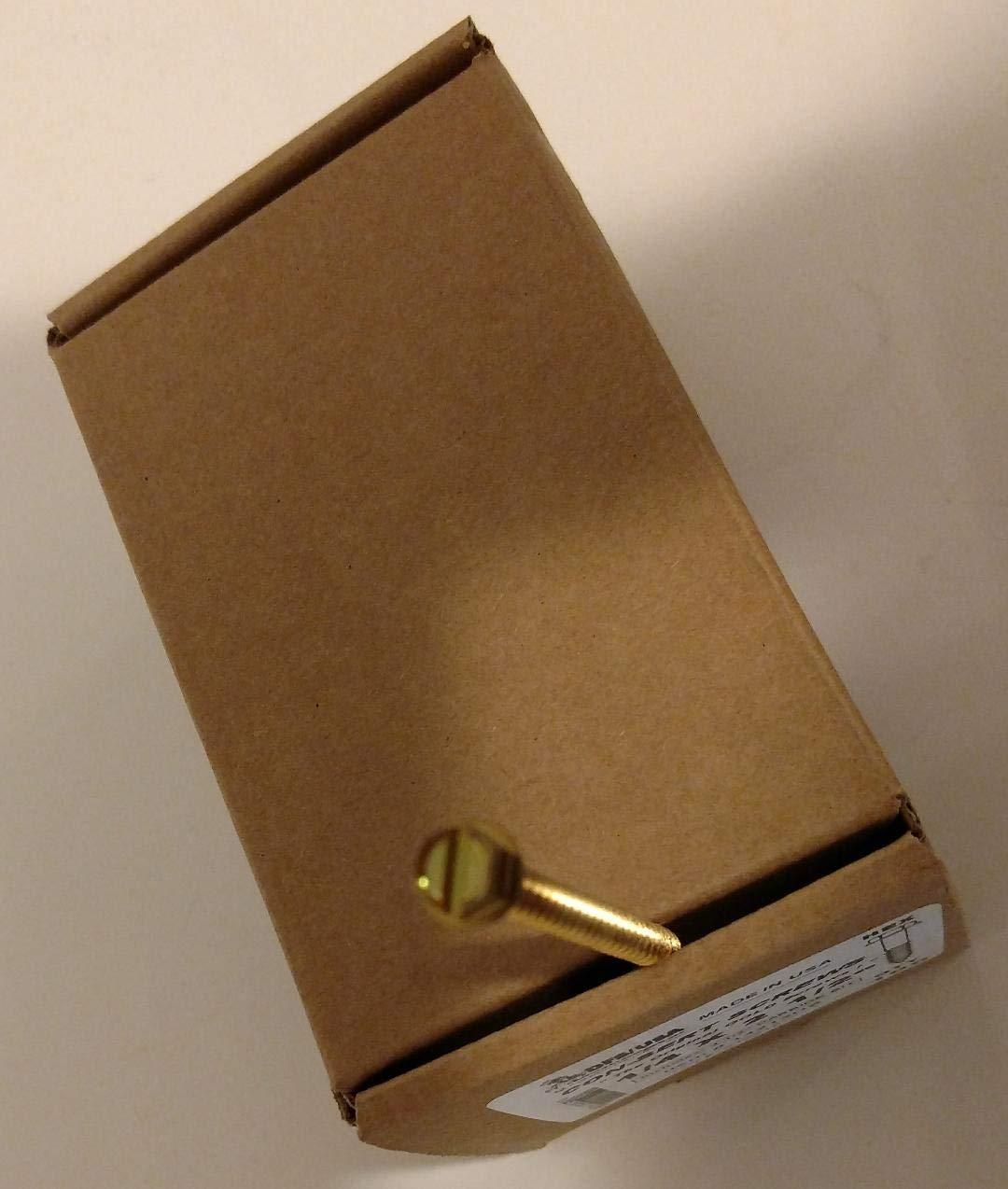 Masonry Screw w/Bit, 1/4x2-1/2 in, PK100