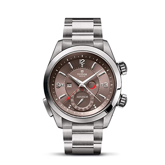 Tudor Advisor Reloj de Hombre automático 42mm Correa de Acero M79620TC-0003