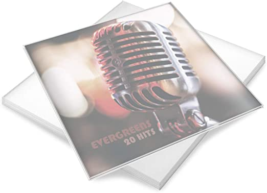 organizer per dischi in vinile Custodia per album per dischi da 710 1233 45 78 giri//min scaffale per dischi in vinile per 10 LP Custodia per dischi in vinile per album