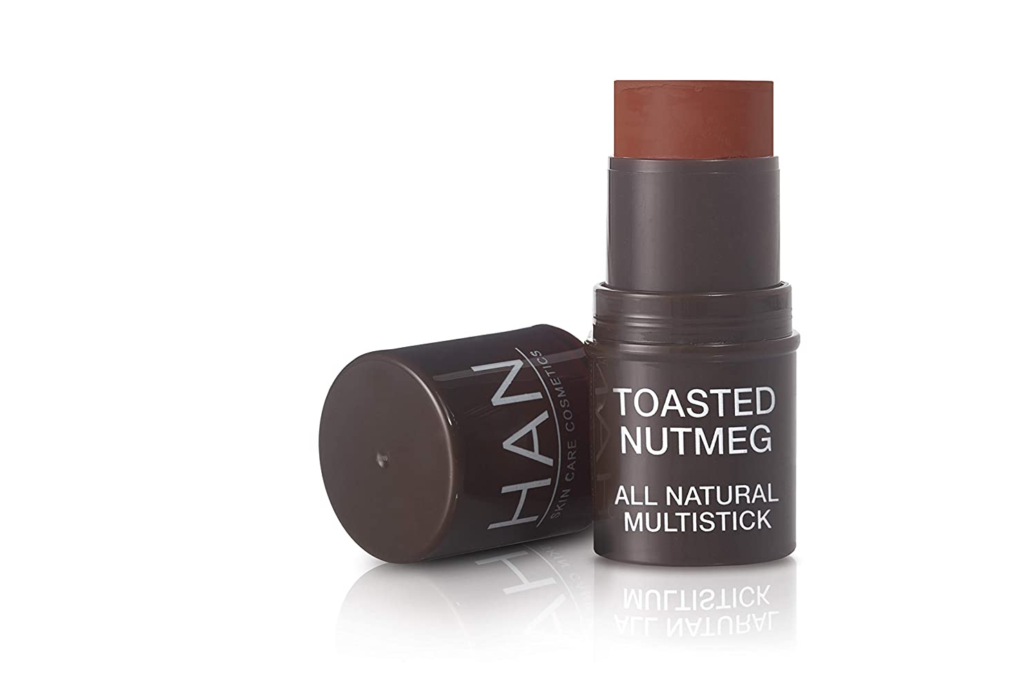 HAN Skincare Cosmetics All Natural Cheek and Lip Tint, Toasted Nutmeg