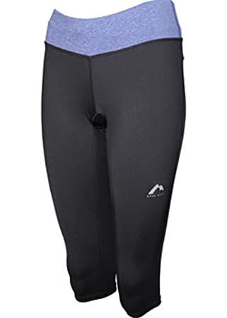 94ee4283e7746 More Mile Womens Ladies Marl Capri Running Gym Tights MM1750-MM1812:  Amazon.co.uk: Sports & Outdoors
