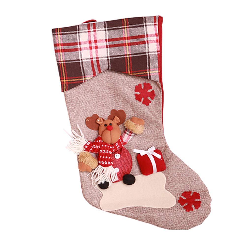 Togelei Weihnachtsbaum hängende Socken Strumpf Candy Bag ...