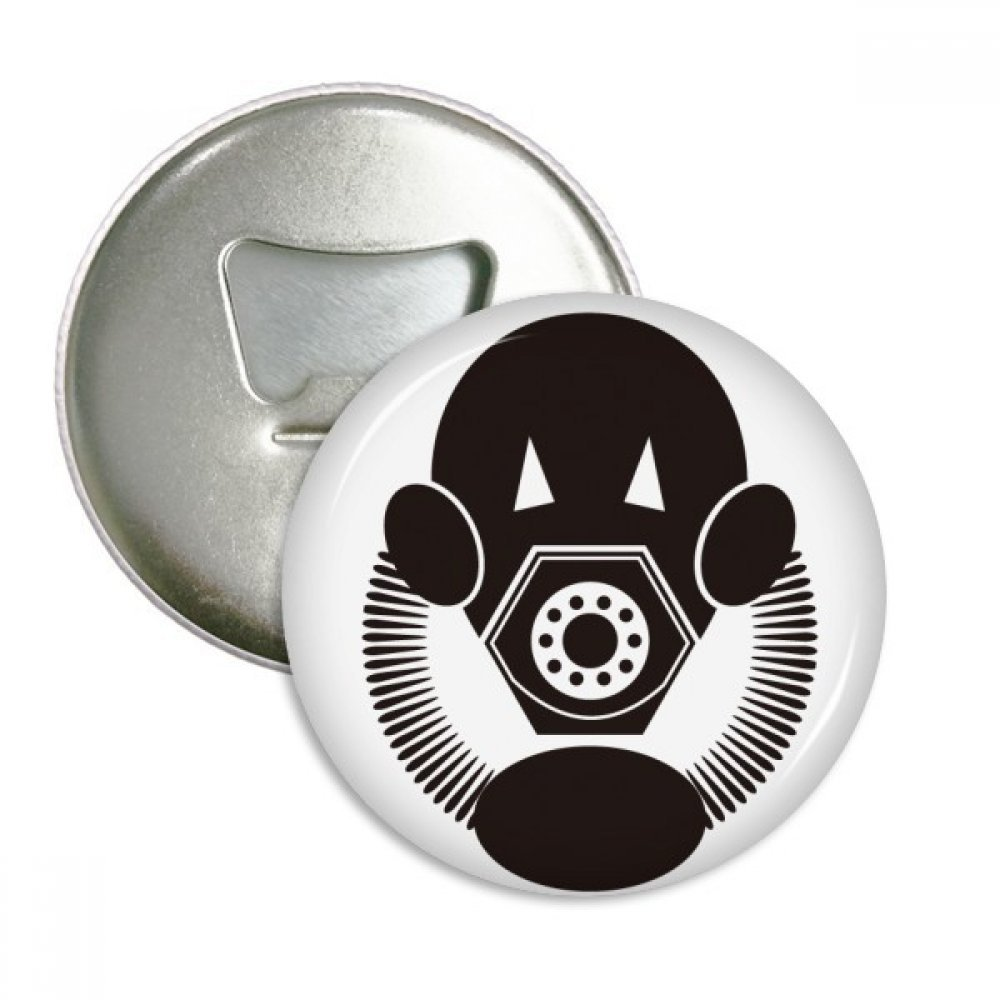 Contaminación especial Biochemical máscara de gas redondo abridor ...