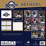 Turner - Perfect Timing 2014 Milwaukee Brewers Team Wall Calendar, 12 x 12 Inches (8011421)
