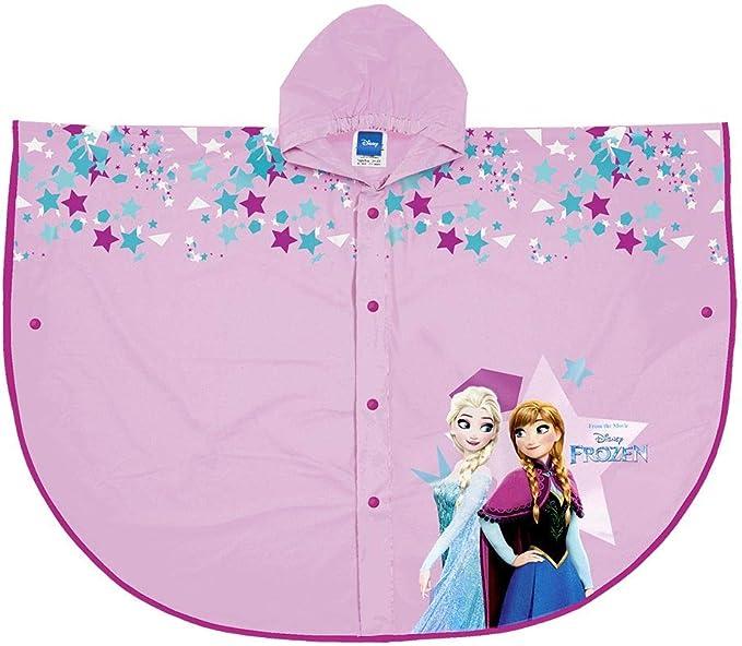 Disney Frozen Elsa Impermeabile Impermeabile con Cappuccio