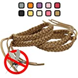Original Kinven® Mosquito Repellent Bracelet Natural DEET FREE Insect Repellent Bands, Mosquito Killer up to 360Hrs Protection Outdoor and Indoor, for Adults & Kids, 4 bracelets, Color: Brown