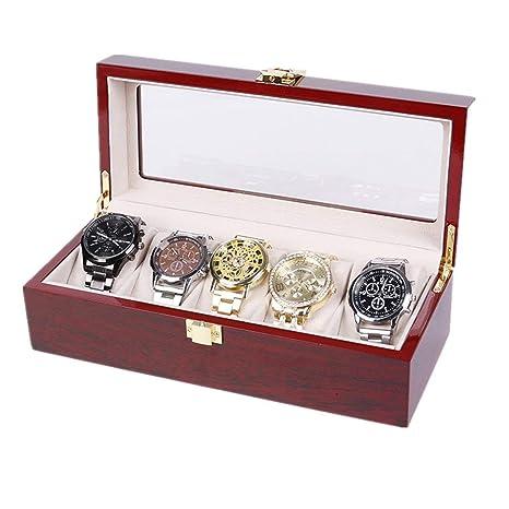 Yishelle Estuche para Caja de exhibición de Relojes Pintura ...