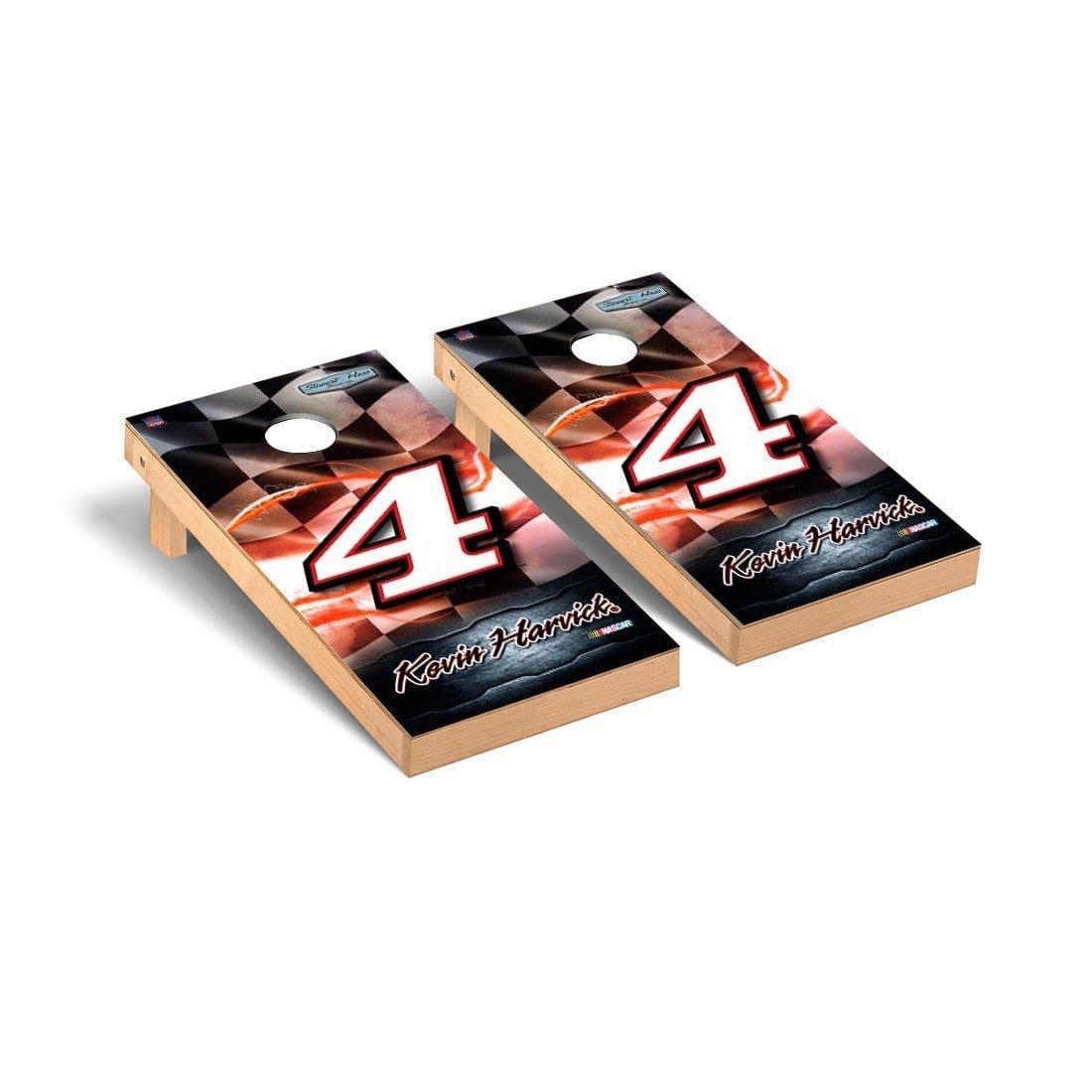 超歓迎された NASCAR Kevin Harvick # 4デスクトップCornhole B0752WTQQX Game Set Racing Flagバージョン # Harvick B0752WTQQX, 宮原町:1f9a4ced --- arianechie.dominiotemporario.com