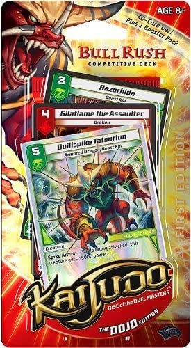 Kaijudo Trading Card Game Competitive Deck Dojo Bull Rush