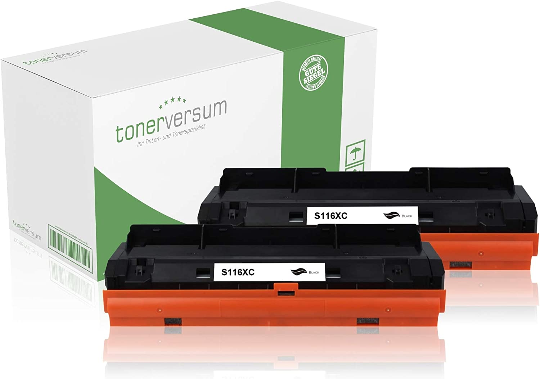 2 Toner Kompatibel Zu Samsung Mlt D116l Schwarz Für Xpress M2835dw M2675fn M2825nd M2885fw M2875 M2625d Laserdrucker Multipack Bürobedarf Schreibwaren